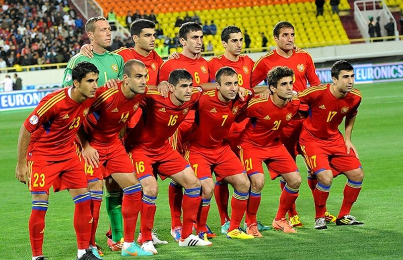 Equipe d'Arménie