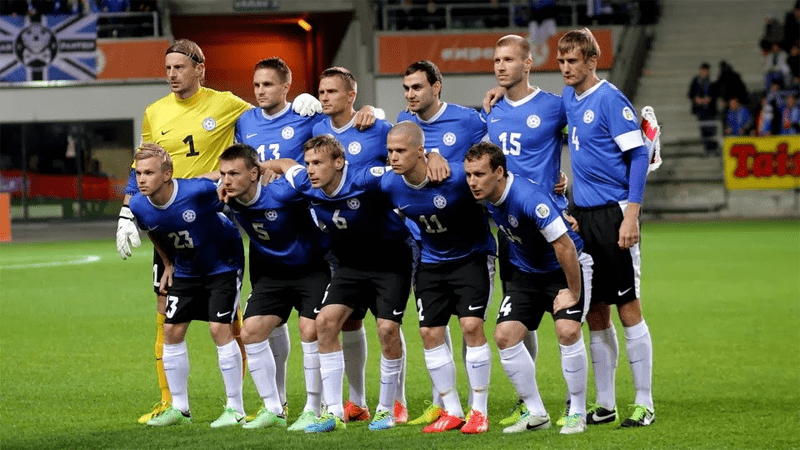 Equipe d'Estonie