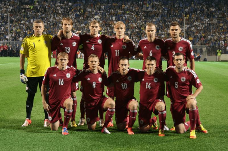 Equipe Lettonie
