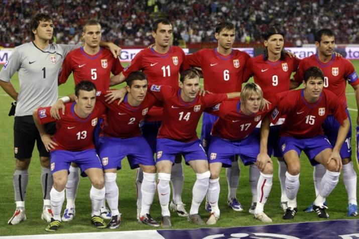 Equipe de Serbie