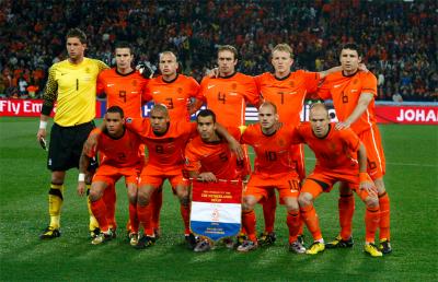 Equipe des Pays-Bas
