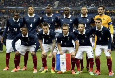 equipe france football