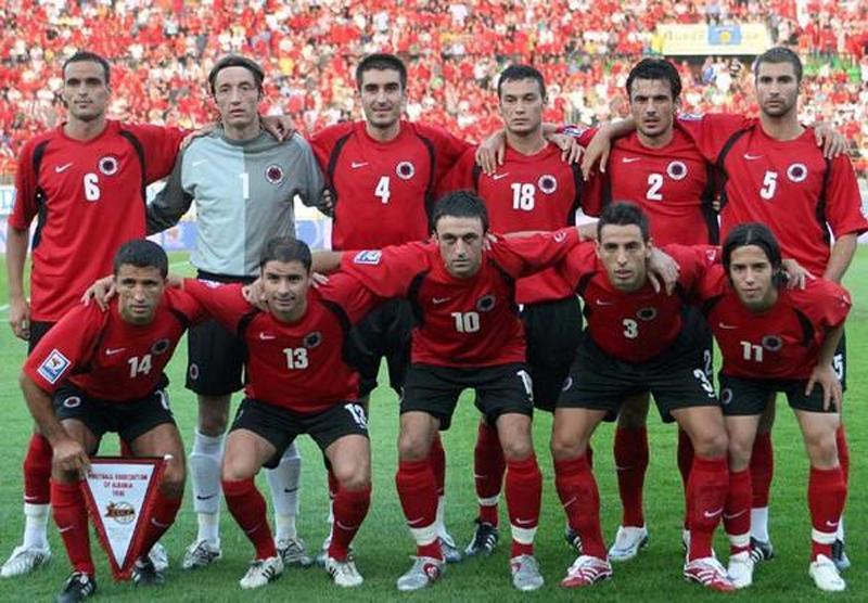Equipe d'Albanie