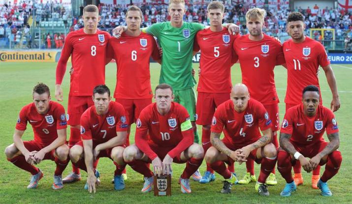Equipe d'Angleterre