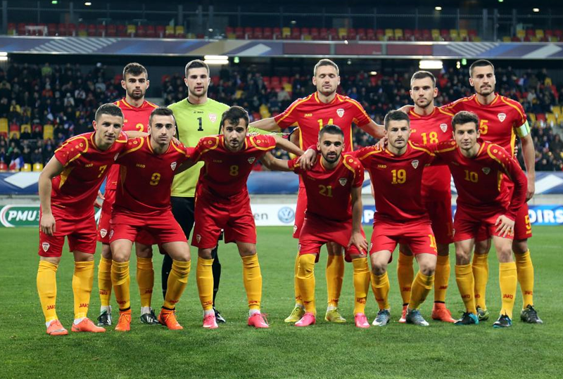 Equipe de Macédoine