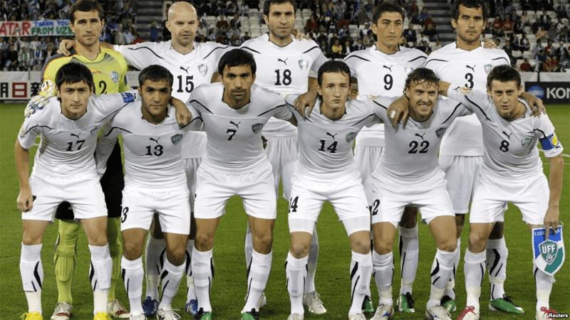 Equipe d'Ouzbékistan