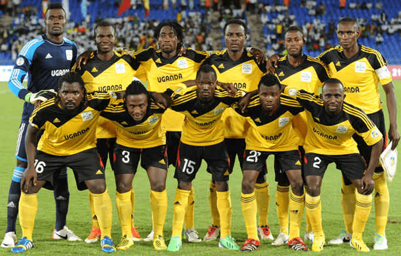 Equipe d'Ouganda