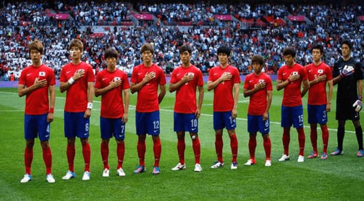Equipe de Corée du Sud