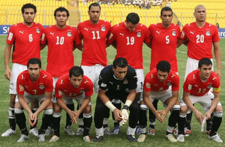 Equipe d'Egypte