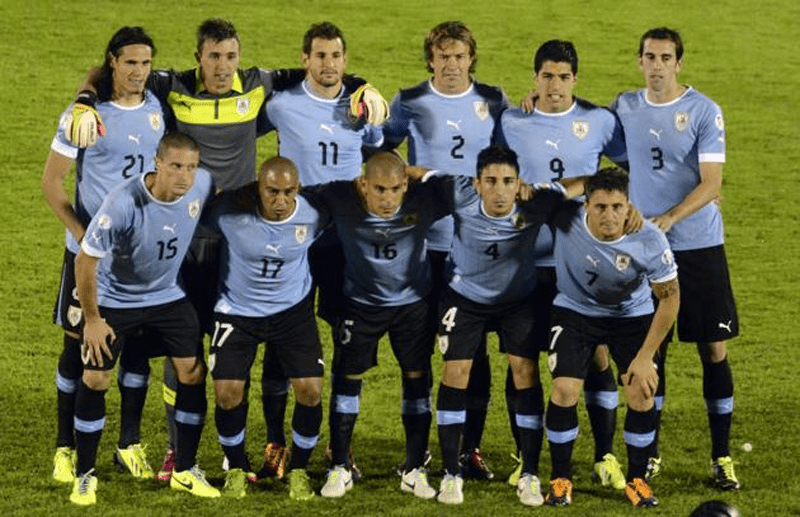 Equipe d'Uruguay