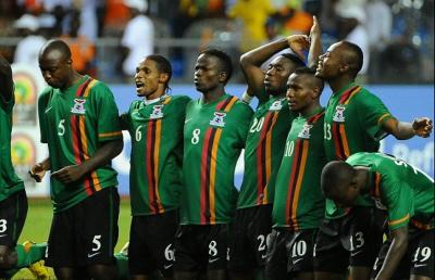 Equipe de la Zambie