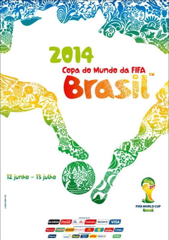 Affiche de la Coupe du monde 2014