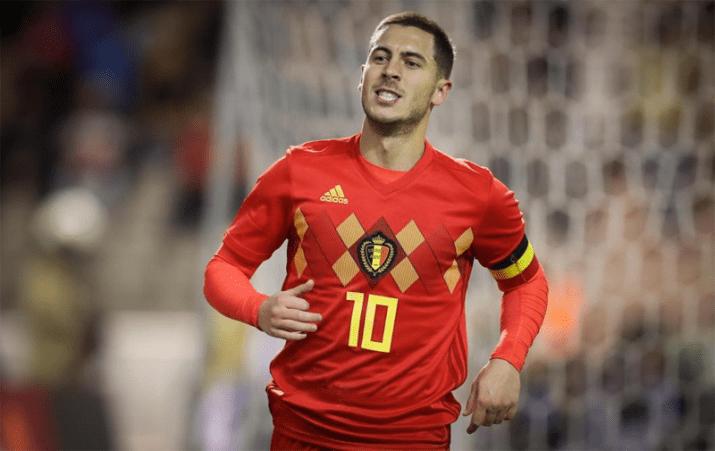 Eden Hazard Belgique