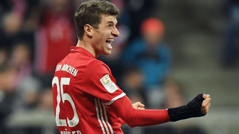 Thomas Müller Bayern Munich