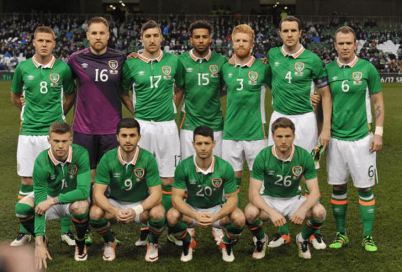 Equipe d'Irlande