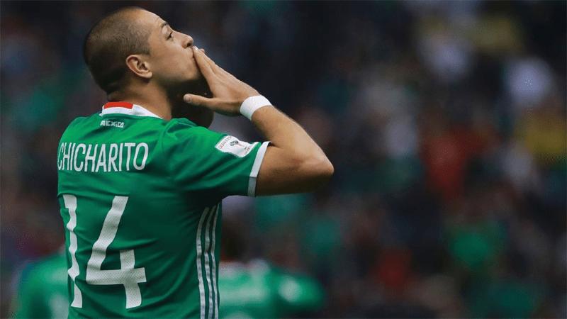 Javier Hernandez Mexique