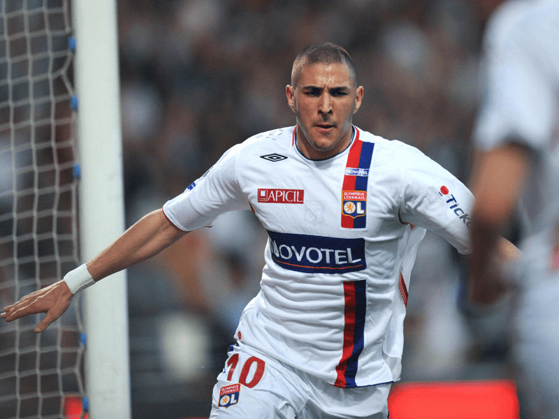 Karim Benzema Olympique Lyonnais