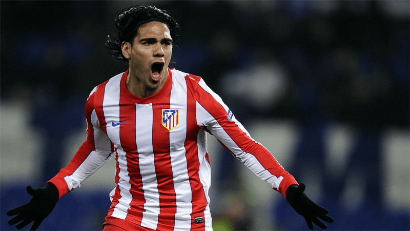 Radamel Falcao Atlético Madrid