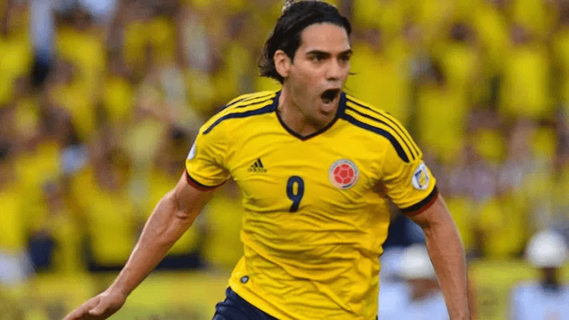 Radamel Falcao Colombie