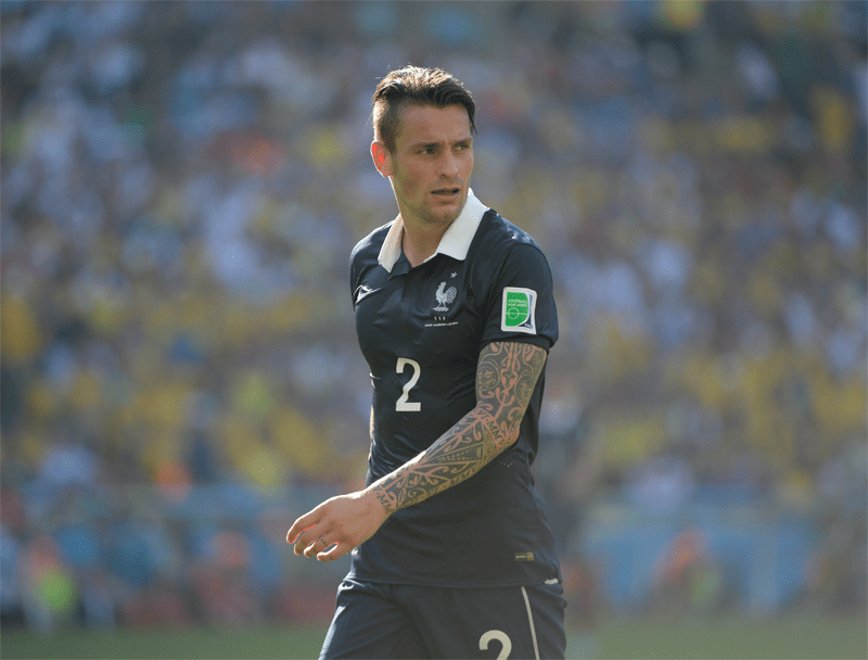 Mathieu Debuchy AS Saint Etienne