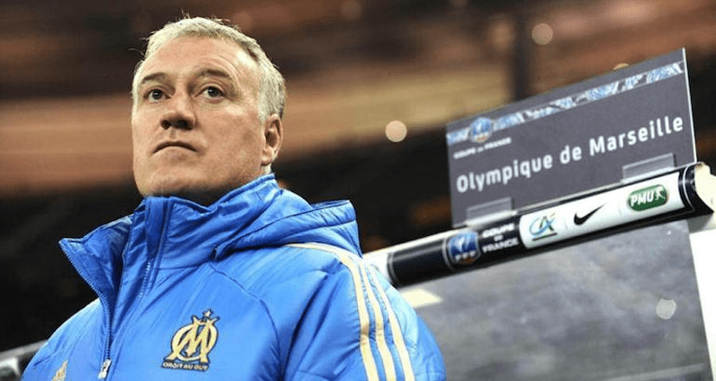 Didier Deschamps Olympique de Marseille